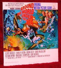 OST LP AROUND THE WORLD AND UNDER THE SEA HARRY SUKMAN 1966 MONUMENT SEALED