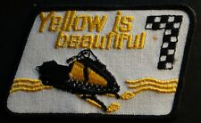 """VINTAGE SKI-DOO T'NT SNOWMOBILE PATCH NEW ABOUT 3"""" X 4"""" NOT PERFECT"""