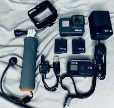 GoPro HERO7 Action Camera - Black 3 Batteries, Rapid  Charger, Remote, Floaty