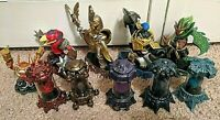 SKYLANDERS LOT OF 5 Creation Crystals & 4 Imaginators SENSEI