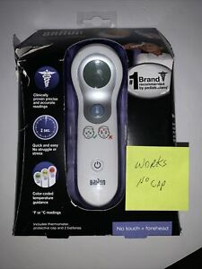 Braun NTF3000US No Touch Plus Forehead Digital Thermometer