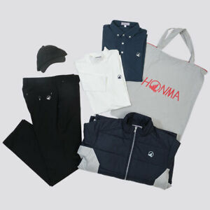 HONMA 2021 Happy Bag Golf Clothing - Jacket / Shirts x 2 / Pants / Cap - Size L