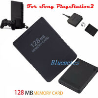 128MB High Speed Memory Card for Sony PlayStation 2 PS2 Accessories