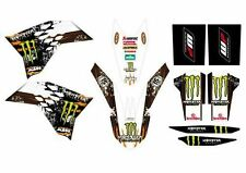 KTM GRAFICHE STICKERS MONSTER EXC 08/11 SX 07/10 CRYSTAL