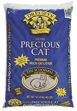 Precious Cat Ultra Premium Clumping Cat Litter 40lb bag, New