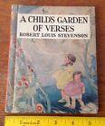 Beautiful Vtg 1919 1937 Early ELF Book A CHILD'S GARDEN OF VERSES R.L.Stevenson