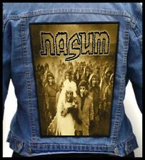 NASUM - Inhale Exhale  --- Huge Jacket Back Patch Backpatch