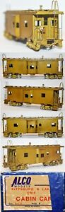 Pittsburgh & Lake Erie P&LE Caboose  Alco Brass (X-121) HO UP BA21.108