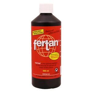 Fertan Rust Converter, Killer, Treatment, Remover, 500ml
