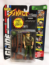 MOC Hasbro Toy GI JOE Action Figure SGT Savage COMMANDO with VIDEO 81121