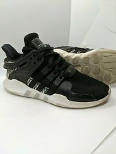 Adidas EQT Support ADV Junior Men's 5 Black Athletic Shoes #BY9874