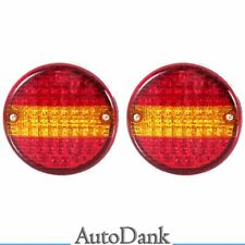 2x LED Rückleuchten LKW Heckleuchte Anhänger Auflieger Trailer 24V Universal