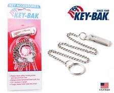 Key-Bak 19.5 inch Key Chain with Pocket Clip