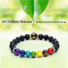 7 Chakra Anxiety Bracelet Crystal Healing Beads Jewellery Natural Reiki gift
