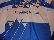 vintage MAILLOT L shemsy A.S as MULHOUSE alsace FOOTBALL credit mutuel ASM n°6