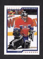 1996-97  SCORE HOCKEY , # 267 , JOSE THEODORE , MONTREAL CANADIENS