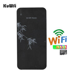 10000mAH Power Bank 3G Wireless Router Wifi Router With SIM Card Slot&RJ45 Port