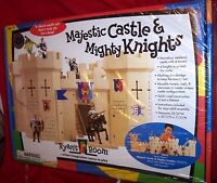NEW IN THE ORIGINAL BOX Majestic Castle & Mighty Knight by RYAN'S ROOM