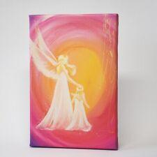 """Ángel lienzo presión """"siempre ahí"""" muro imagen Ángel de la guarda, cuarto de la bebé chicas decorativas"""