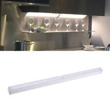 20 LED Wireless Light Bar Batter PIR Motion Sensor Night Light Cabinet Wardrobe