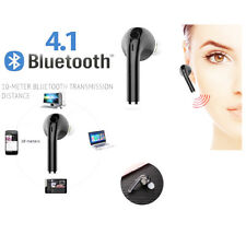 AURICOLARI BLUETOOTH STEREO CUFFIE WIRELESS + MICROFONO PER IPHONE 5 6 7 Plus