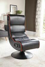 X Rocker 2.1 Cobra Gaming Chair - Black/Orange - E36