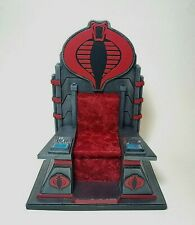 "CUSTOM 1:12 Scale Cobra Throne- Fits 6"" GI Joe Classified Series Destro Baroness"