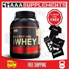 Optimum Nutrition Gold Standard Whey | 2.3kg Protein Supplement WPI Gym Fitness