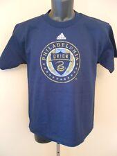 New Philadelphia Union Youth Large (L 14/16) Navy Blue Adidas Shirt