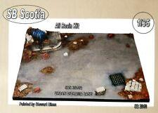 SB Scotia Models Urban Diorama Base 1/35 scale resin model kit SBS35102