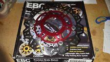 NEW EBC VR1153RED FRONT Brake Rotor RED 2004-2005 HONDA CBR1000RR Motorcycle