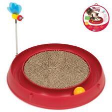 Play-n-Scratch rot mit Biene + Kratzmatte, Kratzspielzeug - Spielkreis + Minze