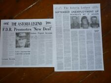 The Goonies  Both Newspaper Front Covers
