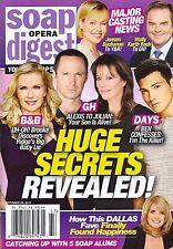 Soap Opera Digest Magazine - October 26, 2015 - Linda Gray, A Martinez