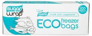 SugarWrap Eco Freezer Bags - Medium x100