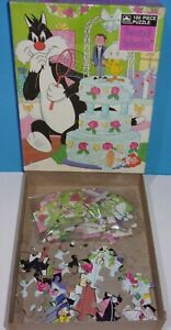 Vintage Sylvester Tweety Looney Tunes Wedding 100 Piece Jigsaw Puzzle 1983