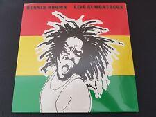 Dennis Brown Live at Montreux 2LP Vinyl New