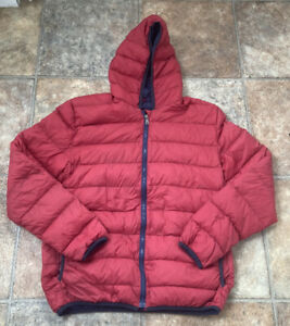 NORTH SAILS - BOYS SUPER LIGHT DOWN JACKET - RED - SCHOOL COAT - 12-13-14 YEARS