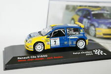 Ixo Presse 1/43 - Renault Clio S1600 Rallye Antibes 2004