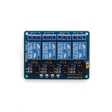5V 4 Canaux Module Relais Bouclier Single-Chip Contrôle Arduino MCU ARM PIC AVR