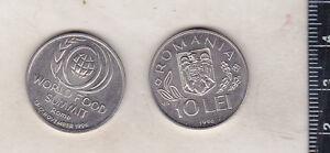 Romania 10 lei 1996 FAO  WFS Rome - KM 126 - unc
