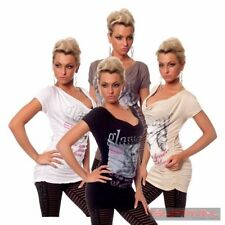 Clubwear Short Sleeve Hand-wash Only Regular Tops & Blouses for Women