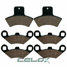 New Front Rear Brake Pads for Polaris Sportsman 500 1998 1999 2000 2001 2002