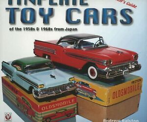 Japanese 1950s - 1960s Tinplate Toy Cars Identification / Book  + Values