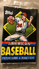 1988 Topps UK Minis American Baseball Pack Ryne Sandberg Cubs Wally Joyner Angel