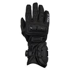 Gants de course, sport noirs Knox pour motocyclette