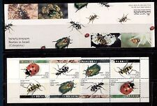INSECTS, BEETLES ON ISRAEL 1994 Scott 1192a COMPLETE BOOKLET, MNH