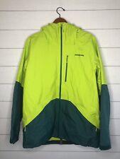 Patagonia Men's Snowshot Jacket Ski/Snowboard Jacket FA15 Green Teal Large L