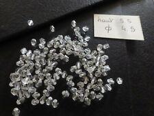 lot 300 perle ancienne cristal TOUPIE FUSEAU transparentes