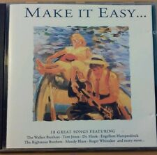 Make It Easy, 18 great songs featuring, 1992 UK CD